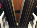 Moduleo Impress sample stand in Gorleston Grosvenor Flooring showroom Suffolk