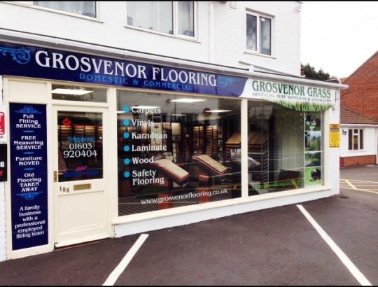 Grosvenor Flooring Norwich Norfolk Showroom